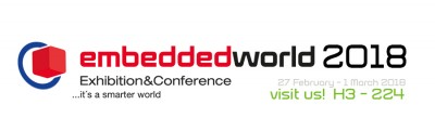 banner sito embedded world 2018